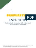 Propuesta 2 - Estatutos FEUTFSM