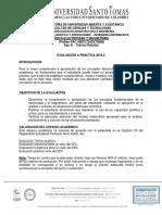 Evaluación Práctica Física Electricidad y Magnetismo 2018-2 (Proyecto)