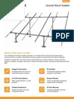 Ground Mount PV Data Sheet