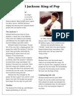 Micheal Jackson pdf