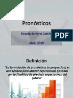 2- Pronósticos
