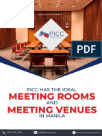 PICC Has The Ideal Meeting Rooms and Meeting Venues in Manila