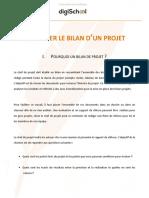 70ef04ef3ce45b6aa3eb6b70a7ff3e41 Management Effectuer Le Bilan d Un Projet