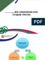 Bimtek Petugas K3 - 12. Manajemen Lingkungan Dan Higienis