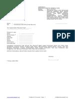 Formulir Permohonan Kode Aktivasi Dan Password