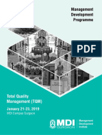 OM-Total Quality Management (TQM)-Jan 19