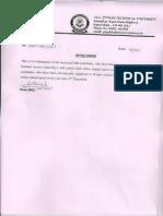 Clarification Regarding Annual Report