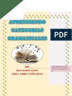 Categorias Gramaticales Unidad 3