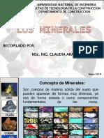 Minerales 2019 - Claudia Arauz