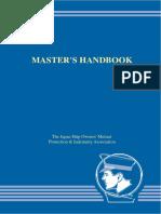 Master's Handbook