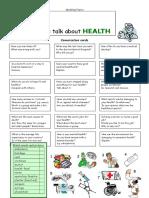 Lets Talk About Health Fun Activities Games Oneonone Activities Pronuncia 1996