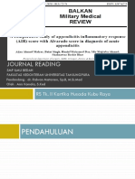 Jurnal Alvarado vs Air Score