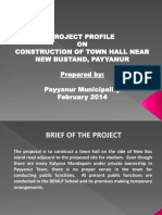 Previsedpayyanur Project Report Town Hall