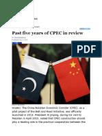CPEC Achievements