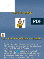 Roman Numerals CC