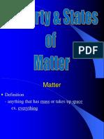 Chemistry Matter