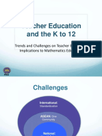 Teacher Education and the K to 12 by Dr. Ester Ogena Converted