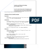 Finding Text Transcriptions Bibliografia