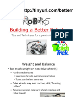 Building a Better Robot