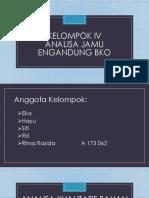 Analisa kualitatif Jamu Mengandung BKO kelompok 4.pptx