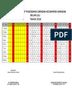 Jadwal Jaga Perawat 2014