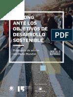 Las ONG Ante Los Objetivos de Desarrollo Sostenible