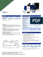 01 Generators - P33 Data Sheet-2.pdf