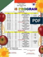 Class Program 2019-2020