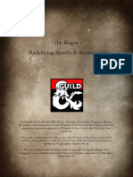 D&D5e - The Revised Rogue Redefining Stealth & Assassination