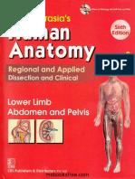 BD Chaurasia's Human Anatomy, Volume 2 – Lower Limb, Abdoman and Pelvis, 6th Edition.pdf