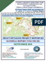 1. Material Report