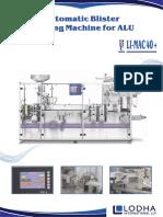 Alu -Alu Blister Packing Machine, LI_MAC 40