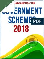 Final Govt Schemes 2018