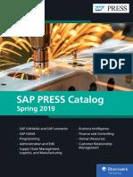 SAP PRESS Catalog Spring 2019 Larger
