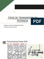 S9 - Tipos de Transmisión de Potencia