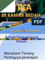 ETIKA DI KAMAR BEDAH Pebruari 2016.ppt