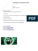 Anonymity Darknets So Fc
