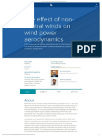 The Effect of Non-neutral Winds on Wind Power Aerodynamics _ University of Surrey