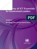 Realizing Data Driven Governance eBook