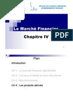 Marché Financier_Chapitre IV