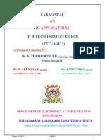 Ic Lab Manual