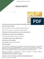 Resumão Lei Inquilinato - Direito Imobiliário