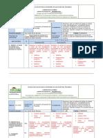 Rubricas Formulación y Evaluación de Proyectos
