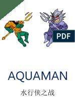Aquaman Coupon Box