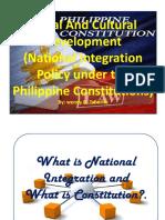 Social and Cultural Development