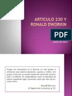 Articulo 230 y Ronald Dworkin[253]