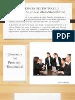 Importancia Del Protocolo Empresarial en Las Organizaciones_diana_vega