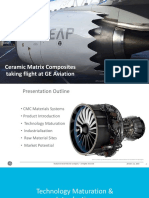 Ceramic Matrix Composites Taking Flight at GE Aviation
