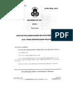 Trial STPM 2010 KL Paper1 Questions