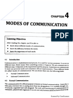 Unit 3 - Modes of Communication